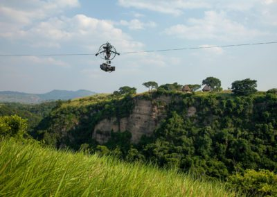 ON LOCATION - CABLE DOLLY, UGANDA